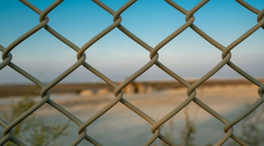 Chain Link Fence by Exterior Experience, St. Louis, MO